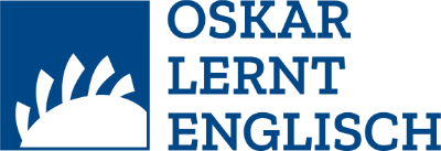 Oskar lernt Englisch Logo