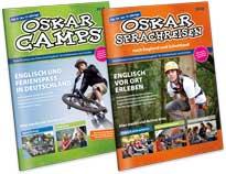Oskar lernt Englisch Kataloge 2018 SprachCamps und Sprachreisen