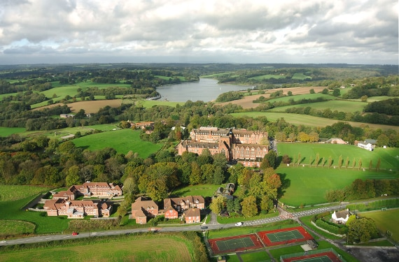 Aussicht UK Sprachreise Ardingly College