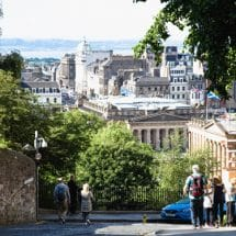 Ausblick Edinburgh City Sprachreise Edinburgh