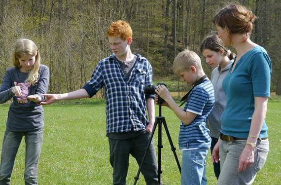 Filmaufnahmen im FilmCamp Schloss Altenhausen