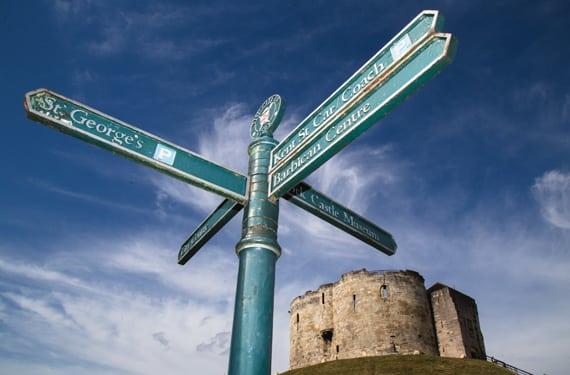 Innenstadt York College UK Sprachreise York