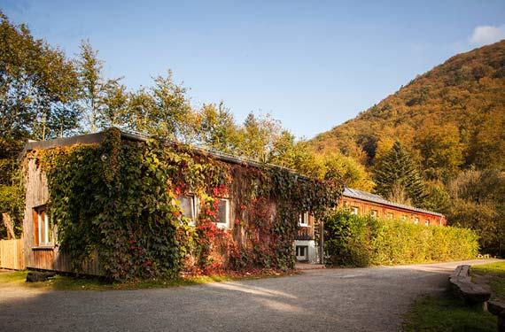 Unterkunft im AbenteuerCamp Zorge Sprachcamps Walther Freist Haus