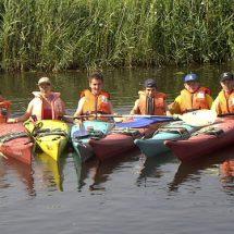 Kanufahren im Wassersport+ActionCamp Sorpesee