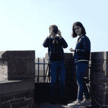 Hattingen zwei Kinder beim filmen