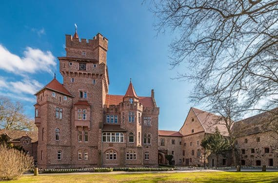 Schloss Altenhausen ist eine tolle Anlage für unserer SprachCamps