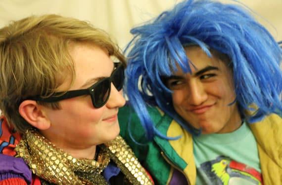 Junge Darsteller im Theater- und TanzCamp Biggesee