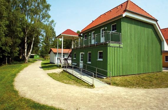 Unterkunft der SprachCamps in Born auf dem Fischland Darss