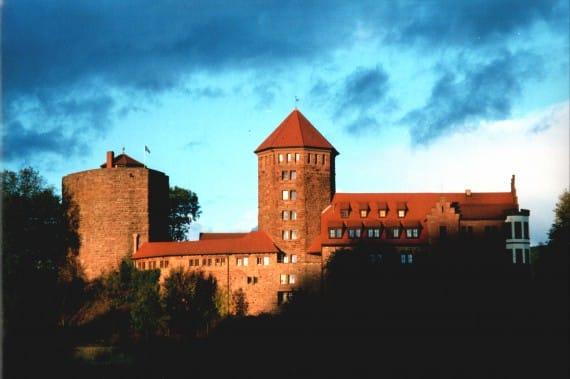 Ferienlager auf der Burg Rieneck, Ort des Sport- und ActionCamp Burg Rieneck