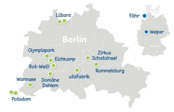 Alle DayCamps in Deutschland