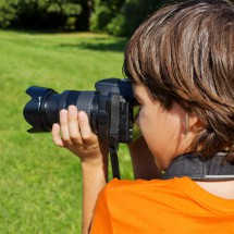 Junge beim Shooting im Oskar-FilmCamp Freusburg
