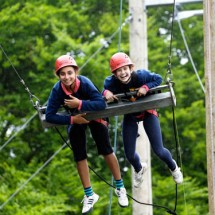 Adventure Camp Windmill Hill England-Kletterpark