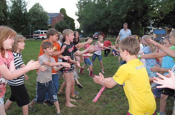 Sportliche Aktivitäten im Forscher- und Entdecker DayCamp Potsdam