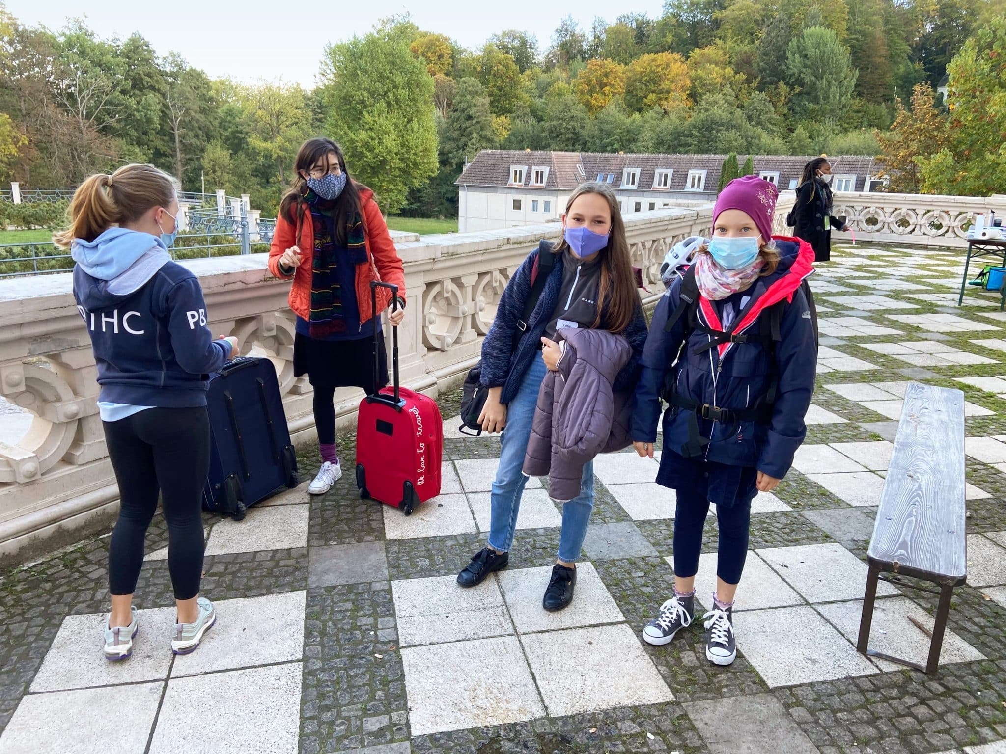 Corona Check-in im SprachCamp Schloss Boitzenburg