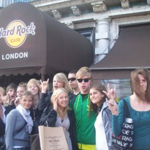 Jugendreise-London-HardRockCafe in den Osterferien
