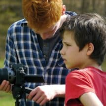 Kamera ab im FilmCamp Schloss Boitzenburg