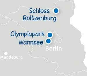 Standortkarte Brandenburg