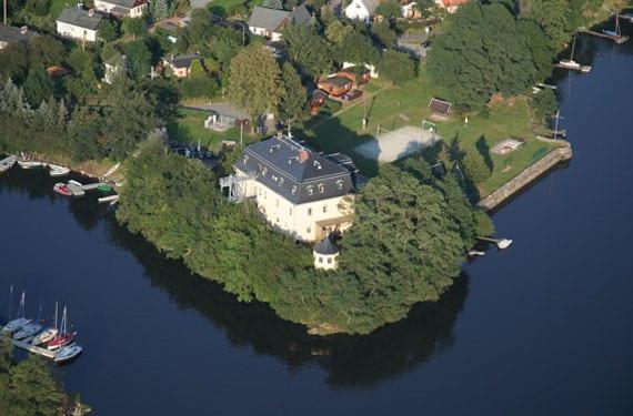 SprachCamp Taltitz in Sachsen aus der Luft