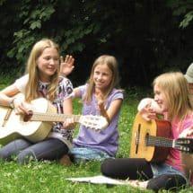Musiksession im Sport- und KreativCamp Wannsee