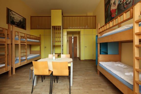 Unterbringung in Mehrbettzimmern auf Schloss Boitzenburg