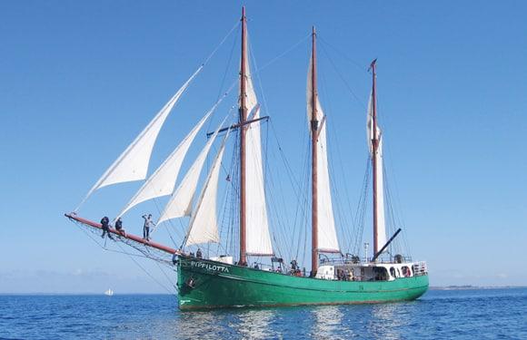 Mit der Pippilotta auf Törn in der Dänischen Südsee