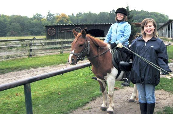 Erste Reiterfahrungen in den Reiterferien Ostsee