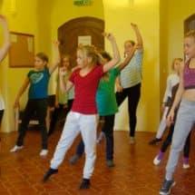 Choreographie-Training im Theater- und TanzCamp Freusburg