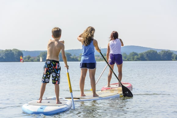 Stanf-up paddling sup an der Ostsee