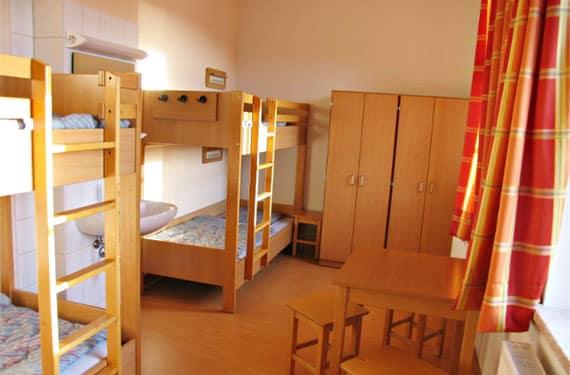 Zimmer im SprachCamp Taltitz in Sachsen